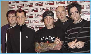 Good Charlotte were among the winners