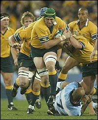 Australia's David Lyons leads yet another Wallaby charge