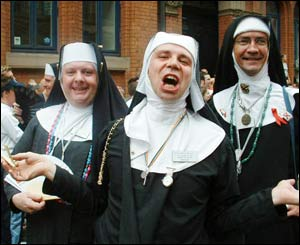 Sisters of Perpetual Indulgence at Europride
