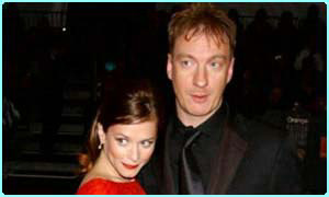 David Thewlis and girlfriend Anna Friel