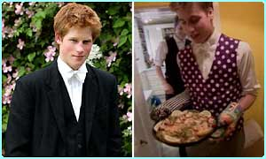 Princes William and Harry: Picture credit for William ITN