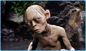 Gollum from The Two Towers