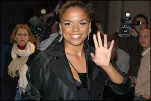 British pop star Ms Dynamite