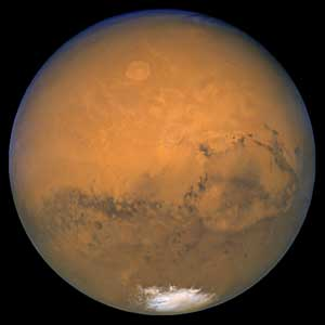Portrait of Mars by Hubble (Space Telescope Science Institute)