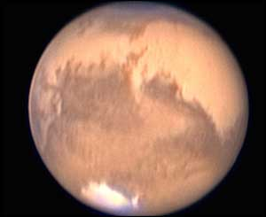 Southern ice cap of Mars (AFP)
