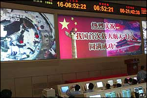 Space Control Centre in Beijing