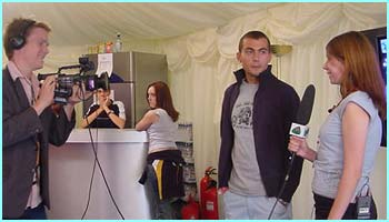 Amy interviews Paul Danan, who played Sol in Hollyoaks
