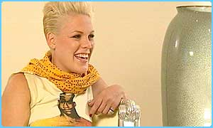 Pink chats to Newsround