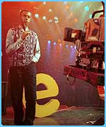 Andi Peters presenting Top of the Pops in 1994
