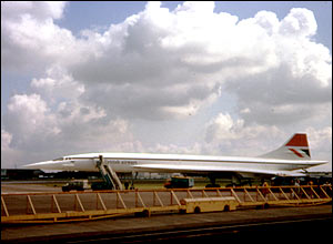Concorde, late 1970s, by Maurice Procter from the UK