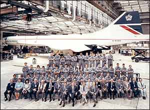 British Airways apprenticeship class of 1985, by Stuart Yule from Germany