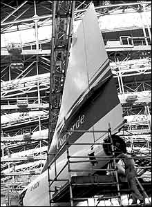 The Birth of Concorde, Filton 1968, by Roy Mason from the UK