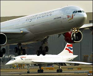 Concorde at Heathrow