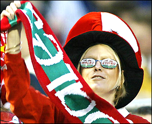 And Welsh fans can start planning to lengthen their stay in Australia to take in the quarter-finals