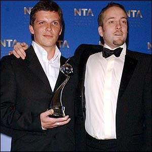 Nigel Harman and Derren Rickman