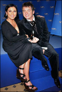 EastEnders stars Jessie Wallace and Shane Richie