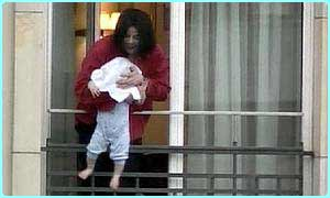 Michael is alleged to have dangled a child over a balcony with a towel over its head