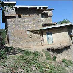 House in Tirah valley, Pakistan tribal area