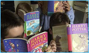 Reading Potter could give you headaches