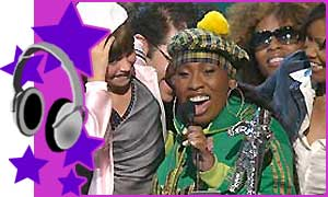 Missy Elliot at the 2003 MTV Video Awards