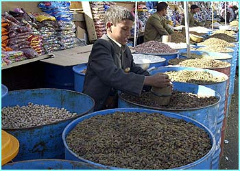 Dried fruit and nuts are also eaten as part of the three-day feast to celebrate the holiday