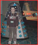 Christopher and Dalek
