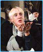 Draco! Tom Felton's good mates with Jamie