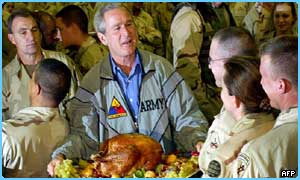 President Bush in Iraq