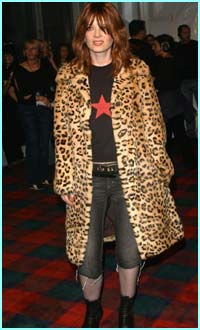 Garbage frontwoman Shirley Manson came in leopard print. Purrr-fect!