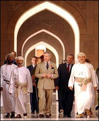 Prince Charles and Omani Muslims