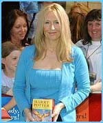 Potter author JK Rowling