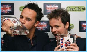 They liked their awards so much they tried to eat them!