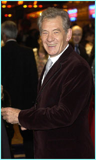 Now here's a real wizard. Ian McKellen plays Gandalf