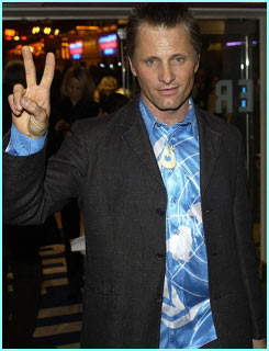 'That's Viggo with a V,' says the King himself, Aragorn actor Viggo Mortensen