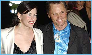 Rings stars Liv Tyler and Viggo Mortensen