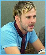 Dominic Monaghan plays Merry