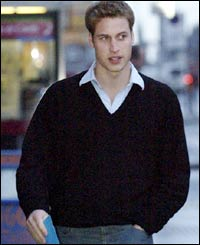Prince William off to post a letter