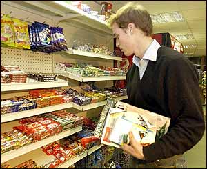 Prince William at newsagents