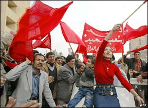 Iraqi communists celebrate Saddam's capture