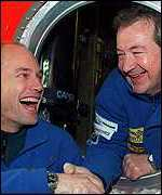 Bertrand Picard and Brian Jones