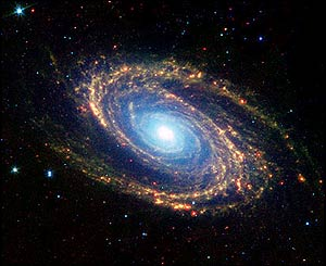 Spiral galaxy Messier 81 - NASA/JPL-Caltech