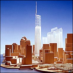 Final design of the new World Trade Center