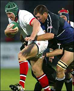 Ulster lock Rowan Frost finds the going tough