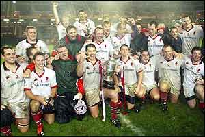 Ulster won the inaugural Celtic Cup with a 27-21 victory Edinburgh