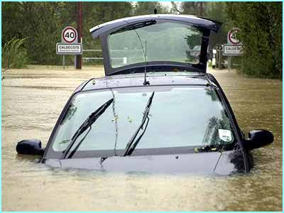 In January more than 140 flood warnings in England and Wales meant a wet start to 2003. People had to be evacuated and homes were wrecked