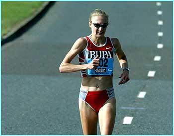 It was another big year for Paula Radcliffe, who won the London Marathon and broke her own marathon world record by almost two minutes.