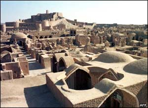 Iran's 2,000-year-old citadel at Bam before the earthquake