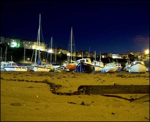 The boats at Tenby harbour (Kevin Wright, from Northampton)