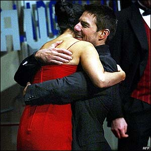 Tom Cruise and Penelope Cruz