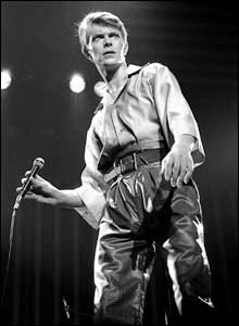 David Bowie, Newcastle, 1978